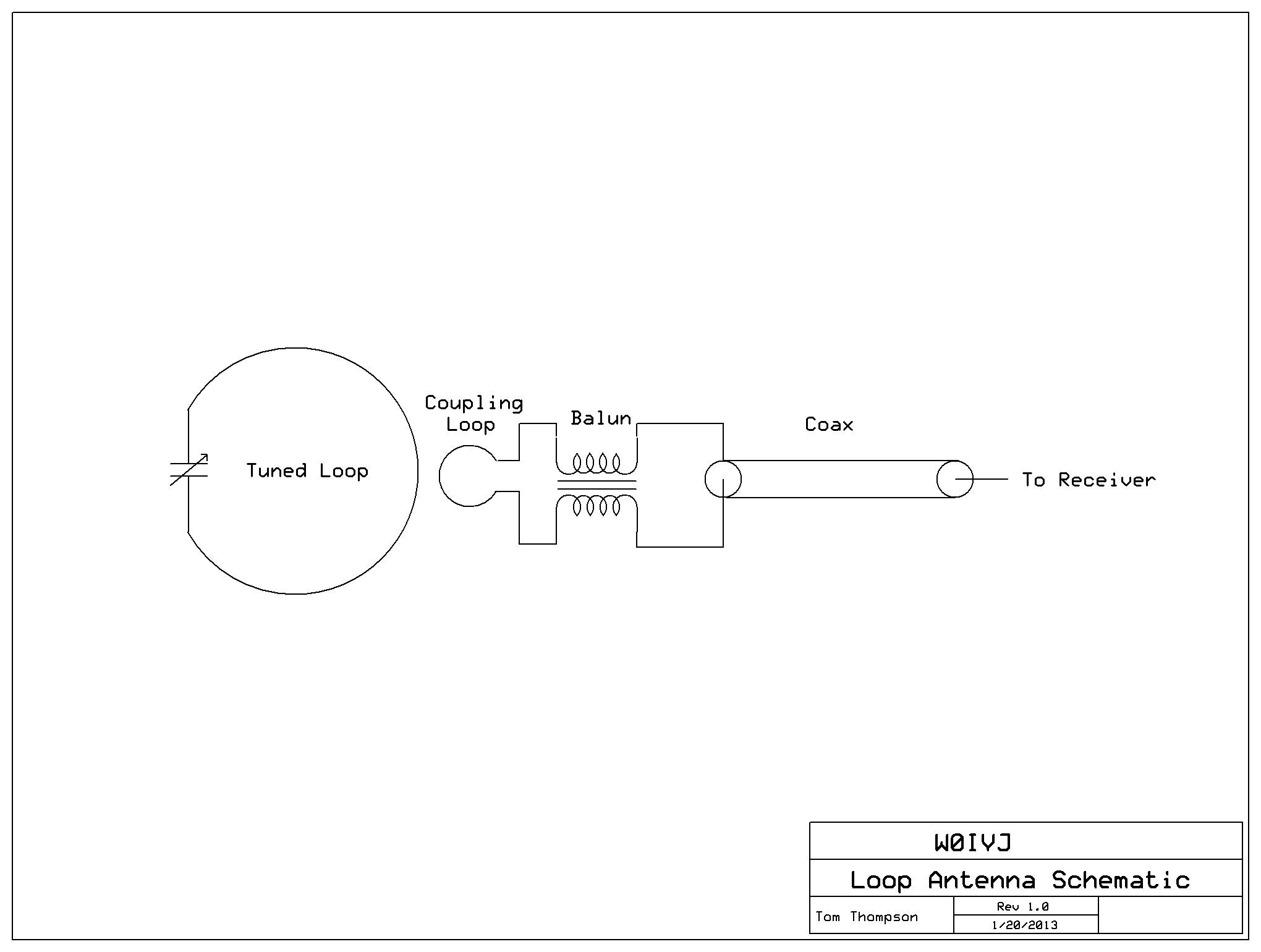 Photo Direction Finding Loop Antenna For 2 Meter Band Similar To Here Is The Schematic Including A Homemade 27mhz Aok Am Transmitter E